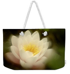Soft Water Lily Weekender Tote Bag