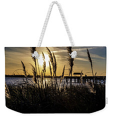 Weekender Tote Bag featuring the photograph Soft Wind by Eric Christopher Jackson