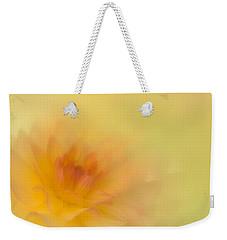 Soft Gold Weekender Tote Bag