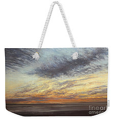 Softly, As I Leave You Weekender Tote Bag by Valerie Travers