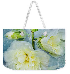 Weekender Tote Bag featuring the photograph Softly by Betty LaRue