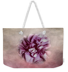 Weekender Tote Bag featuring the photograph Softly Pink by Judy Hall-Folde