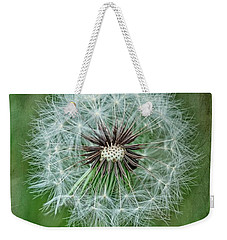Weekender Tote Bag featuring the photograph Softly Sitting by Jan Amiss Photography