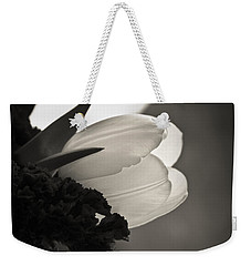 Lit Tulip Weekender Tote Bag by Marilyn Hunt
