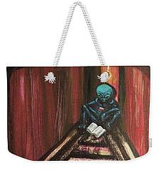Solamente Alien Weekender Tote Bag