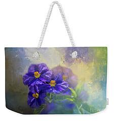 Solanum Weekender Tote Bag by Eva Lechner