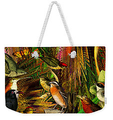 Solar Birds Of Paris Weekender Tote Bag by Joseph Mosley