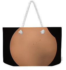 Solar Eclipse 1309 Weekender Tote Bag