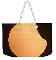 Solar Eclipse 2017 1320 Weekender Tote Bag