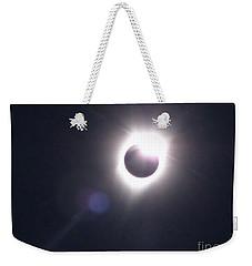 Solar Eclipse 2017 Lens Flare Weekender Tote Bag