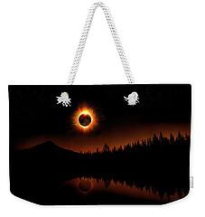 Solar Eclipse 2017 Weekender Tote Bag