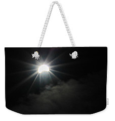 Solar Eclipse In The Clouds Weekender Tote Bag