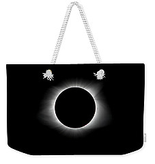 Solar Eclipse Ring Of Fire Weekender Tote Bag