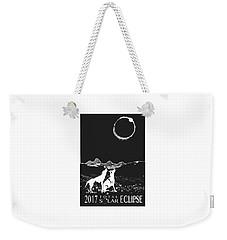 Solar Eclipse Weekender Tote Bag