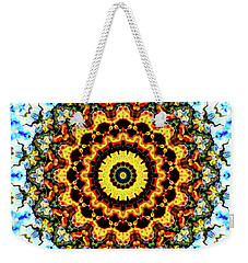 Weekender Tote Bag featuring the digital art Solar Flare 2 by Wendy J St Christopher