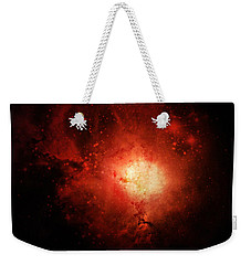 Solar Inferno Weekender Tote Bag by Cynthia Lassiter