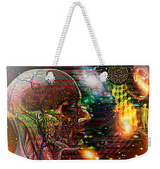 Solar Insight Of Weekender Tote Bag by Joseph Mosley