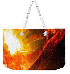 Solar Mass Ejection Weekender Tote Bag