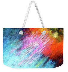 Solar Vibrations. Acrylic Abstract Painting Weekender Tote Bag