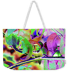 Solarized Hummer Weekender Tote Bag by Wendy McKennon