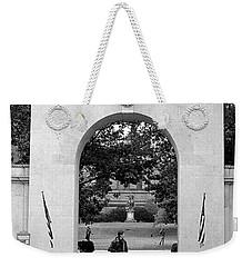 Soldiers Memorial Gate, Brown University, 1972 Weekender Tote Bag