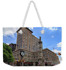 Soldiers Monument In Penn Square In Lancaster Pa Weekender Tote Bag