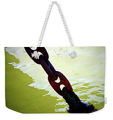 Weekender Tote Bag featuring the photograph Solid 2 by Newel Hunter