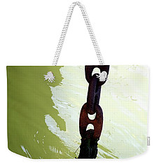 Weekender Tote Bag featuring the photograph Solid by Newel Hunter