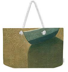 Solitary Boat Weekender Tote Bag