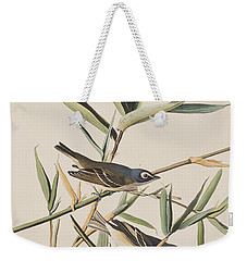 Solitary Flycatcher Or Vireo Weekender Tote Bag by John James Audubon
