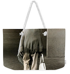 Solitary Lady Weekender Tote Bag