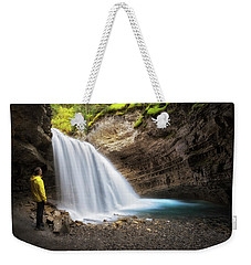 Solitary Moment Weekender Tote Bag by Nicki Frates