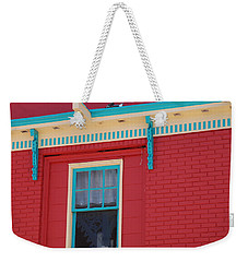 Weekender Tote Bag featuring the photograph Solitary Window by Richard Bryce and Family