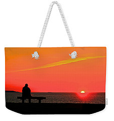 Solitude At Sunrise Weekender Tote Bag