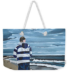 Solitude Weekender Tote Bag by Donna Blossom