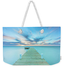Weekender Tote Bag featuring the photograph Solitude by Evgeny Vasenev