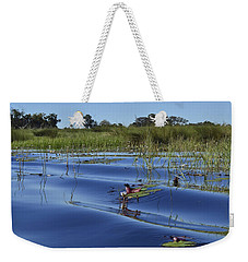 Solitude In The Okavango Weekender Tote Bag