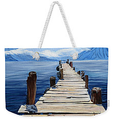 Crooked Dock  Weekender Tote Bag
