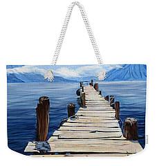 Crooked Dock  Weekender Tote Bag