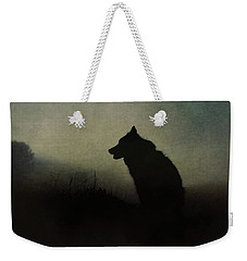 Weekender Tote Bag featuring the digital art Solitude by Nicole Wilde
