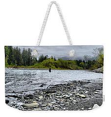 Solitude On The River Weekender Tote Bag