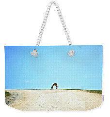 Weekender Tote Bag featuring the digital art Solitude by Sue Collura