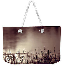 Weekender Tote Bag featuring the photograph Solitude by Trish Mistric