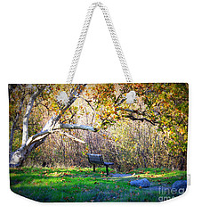 Solitude Under The Sycamore Weekender Tote Bag