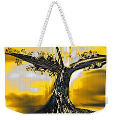 Weekender Tote Bag featuring the digital art Solitude by Yul Olaivar