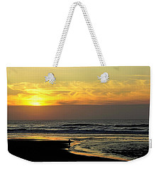 Solo Sunset On The Beach Weekender Tote Bag