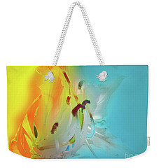 Weekender Tote Bag featuring the photograph Sombras De Luz by Alfonso Garcia