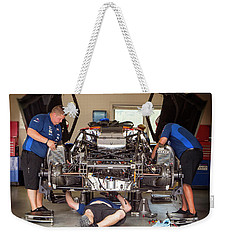 Some Assembly Required Weekender Tote Bag
