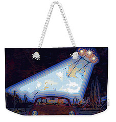 Some Enchanted Evening-retro Romance Weekender Tote Bag