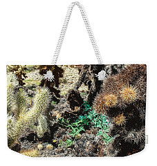 Some Square Yardage Of Joshua Tree Weekender Tote Bag by Stan  Magnan